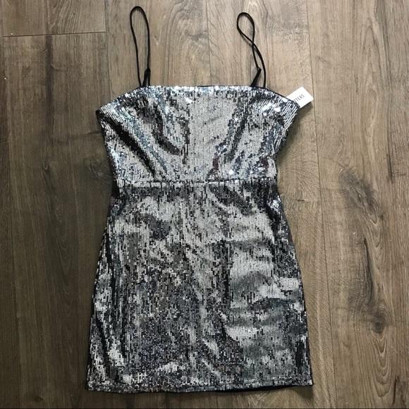 UO Sequin Mini Dress